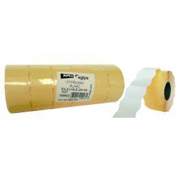 agipa Etiketten für Preisauszeichner, 26 x 12 mm, weiß
