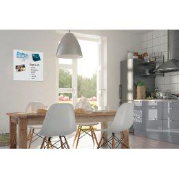 Be!Board Glas-Magnettafel, (B)450 x (H)450 mm, weiß