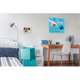 Be!Board Glas-Magnettafel, (B)450 x (H)450 mm, blau