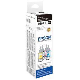 EPSON Tinte T6641 f�r EPSON EcoTank, bottle ink, schwarz