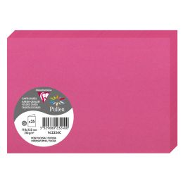 Pollen by Clairefontaine Doppelkarte C6, fuchsia