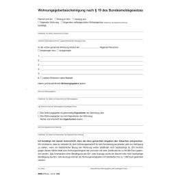 RNK Verlag Vordruck Wohnungs-Einheitsmietvertrag, DIN A4