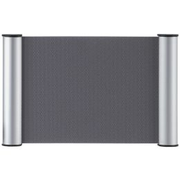 FRANKEN Türschild Clip, 180 x 60 mm - 1/2 A6, silber
