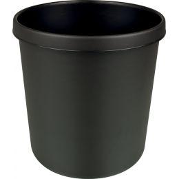 helit Abfall-Einsatz für Papierkorb H61064/H61076, schwarz