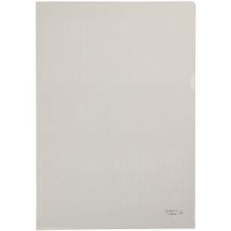 HETZEL Sichthülle Standard, A4, PVC, genarbt, 0,15 mm