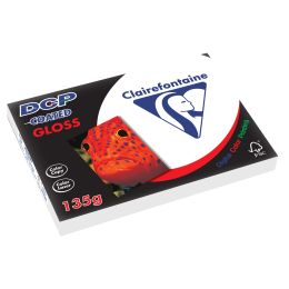 Clairalfa Laserdrucker-Papier DCP Coated Gloss, A3, 135 g/qm