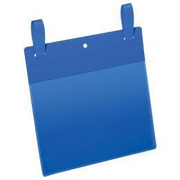 DURABLE Gitterboxtasche mit Lasche, A5 quer, blau