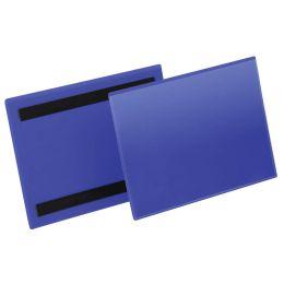 DURABLE Kennzeichnungstasche, magnetisch, 150 x 67 mm, blau