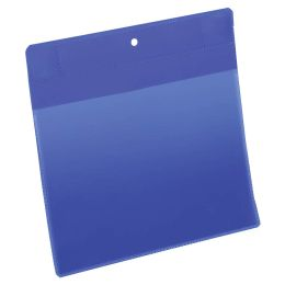 DURABLE Neodym-Magnettasche, DIN A5 quer, blau