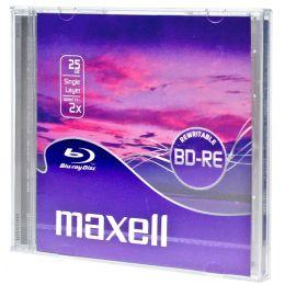 maxell Blu-Ray BD-RE 130 Minuten, 25GB, 2x, Jewel Case