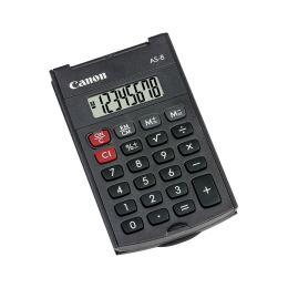 Canon Taschenrechner AS-8, Batteriebetrieb