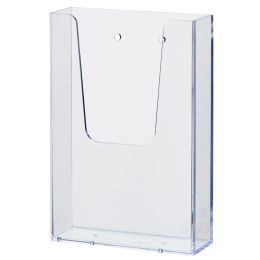 helit Wand-Prospekthalter the help wall, DIN lang,glasklar