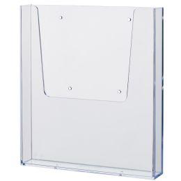 helit Wand-Prospekthalter the help wall, DIN A4, glasklar