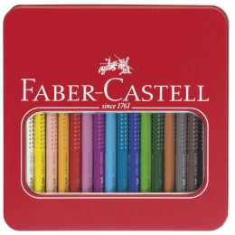 FABER-CASTELL Dreikant-Buntstifte Jumbo GRIP, 16er Etui
