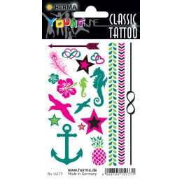 HERMA CLASSIC Tattoo Colour Summerfeeling