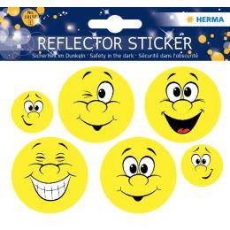 HERMA Reflektorsticker Happy Face