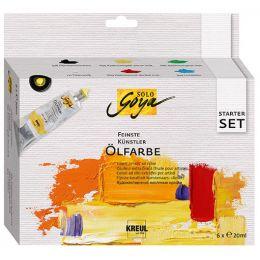 KREUL Künstler-Ölfarbe SOLO Goya, Starter-Set