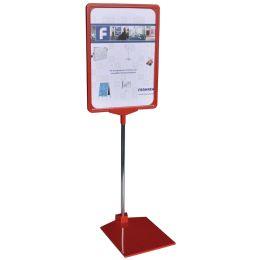 FRANKEN Infoständer / Preisständer, DIN A3, rot