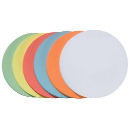 FRANKEN Moderationskarten Kreise, selbstklebend, sortiert