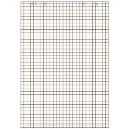 LANDRÉ Flip-Chart-Block, 20 Blatt, kariert, flach liegend