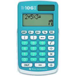 TEXAS INSTRUMENTS Schulrechner TI-106 II