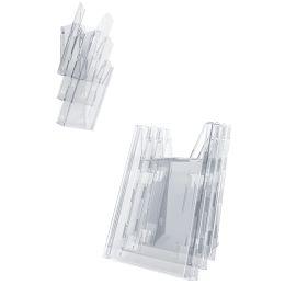 DURABLE Prospekthalter COMBIBOXX DIN lang set L, transparent
