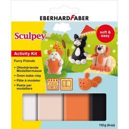EBERHARD FABER Modellier-Set Sculpey Furry Friends