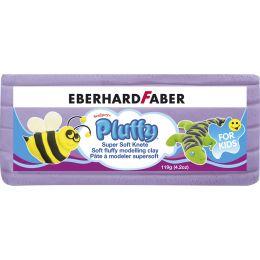 EBERHARD FABER Kinderknete Pluffy, 119 g, lila