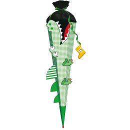 ROTH 3D-Schultüten-Bastelset Krokodil vom Nil, 6-eckig