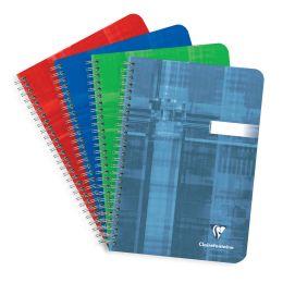 Clairefontaine Spiralbuch, DIN A5, kariert, 90 Blatt
