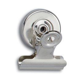 MAUL Briefklemmer mit Kraftmagnet, Breite: 30 mm, nickel