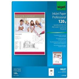 sigel Inkjet-Papier, DIN A4, 160 g/qm, hochweiß, matt
