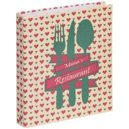 PAGNA Kochrezepte-Ringbuch, Motiv: Mamas Restaurant, A5