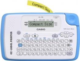 CASIO XR Schriftbandkassette, schwarz auf weiß, 9 mm / 8 m