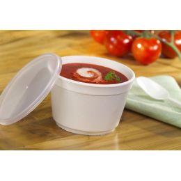 PAPSTAR Deckel für Suppenbecher To Go, Durchmesser: 99 mm