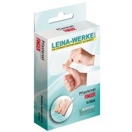 LEINA Pflaster-Set Finger, 16-teilig, hautfarbe