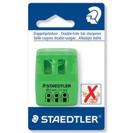 STAEDTLER Doppel-Spitzdose 51260F, neon grün