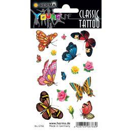 HERMA CLASSIC Tattoo Colour Schmetterlinge