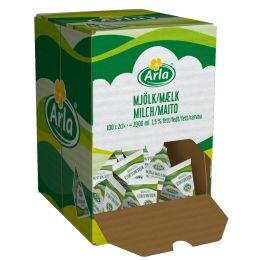 Arla Milch-Portion 1,5% Fett, im Displaykarton
