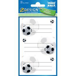 AVERY Zweckform ZDesign Buchetiketten Fußball