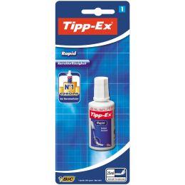 Tipp-Ex Korrekturfl�ssigkeit Rapid, weiá, 25 ml, Blister