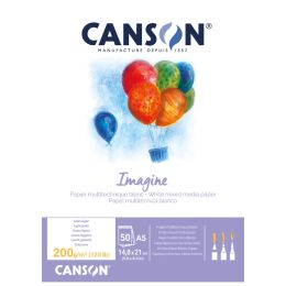CANSON Skizzenblock Imagine, DIN A5, 200 g/qm