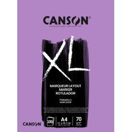 CANSON Skizzen- und Studienblock XL MARKER, DIN A4,
