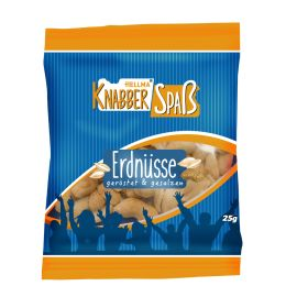 HELLMA Erdnüsse, im Portionsbeutel à 25 g