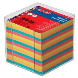 herlitz Zettelbox, Kunststoff, 90 x 90 mm, glasklar