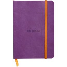 RHODIA Notizbuch RHODIARAMA, DIN A6, liniert, lila
