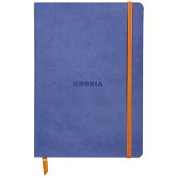 RHODIA Notizbuch RHODIARAMA, DIN A5, liniert, saphirblau