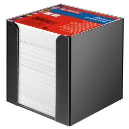 herlitz Zettelbox, Kunststoff, 90 x 90 mm, schwarz