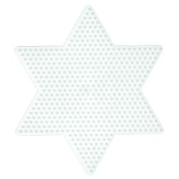 Hama Stiftplatte großer Stern, weiß