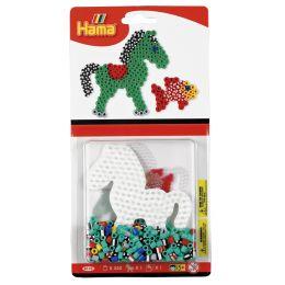 Hama Bügelperlen midi Streifenperlen Pony, im Blister